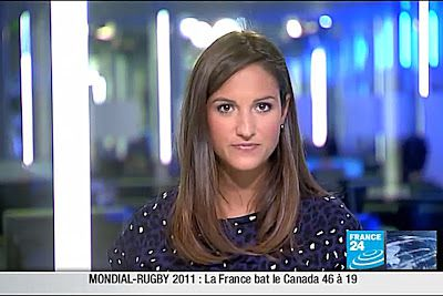 2011 09 18 @21H30 - MARION GAUDIN - FRANCE 24 - LE JOIRNAL