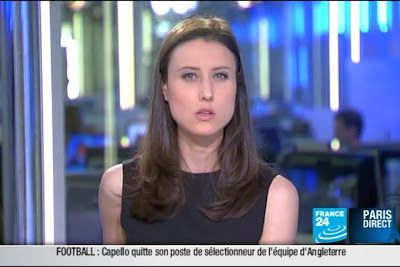 2012 02 09 @22H00 - AUDE LECHRIST, FRANCE 24, PARIS DIRECT