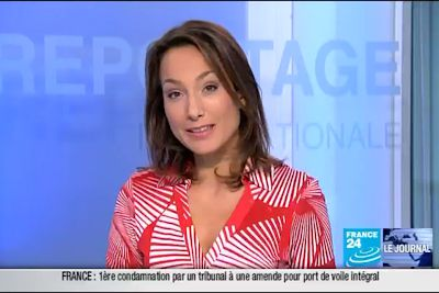 2011 09 22 @18H10 - STEPHANIE ANTOINE - FRANCE24 - LE JOURNAL