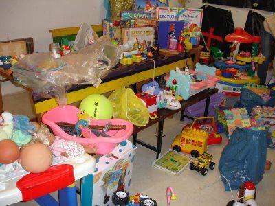 Recogida juguetes usados