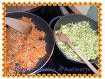 Quiche légumes et lardons