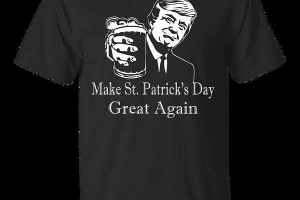 Trump Make St. Patrick's Day Great Again T-Shirt