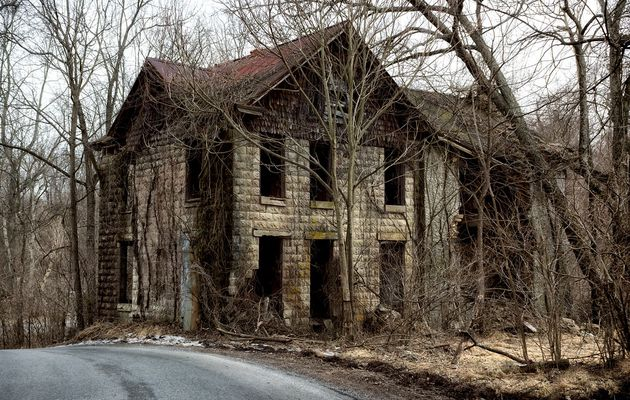 Abandoned House Click to see full size. Prints Available. Photography by © E. M. Wilmer | DigitalLenz...