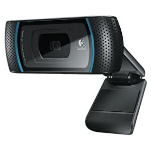 Logitech - HD Pro Webcam C910 - Webcam Full HD 1080p