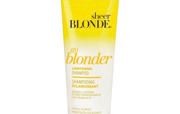 J'ai testé John Frieda Sheer Blonde Shampooing Go Blonder Eclaircissant pour Cheveux Blonds