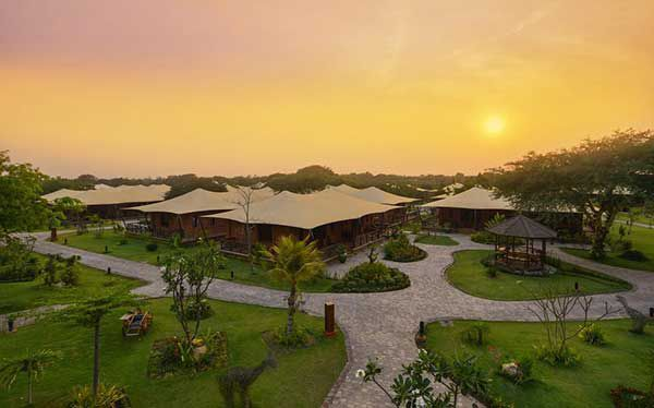 Hotel Bagan Lodge, une incroyable experience !