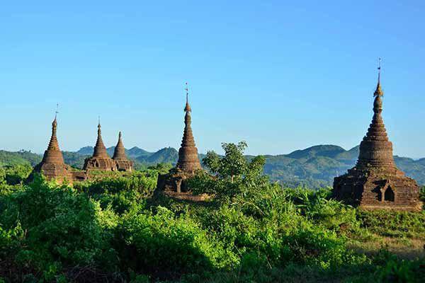 Ou aller en Birmanie ? Mrauk U