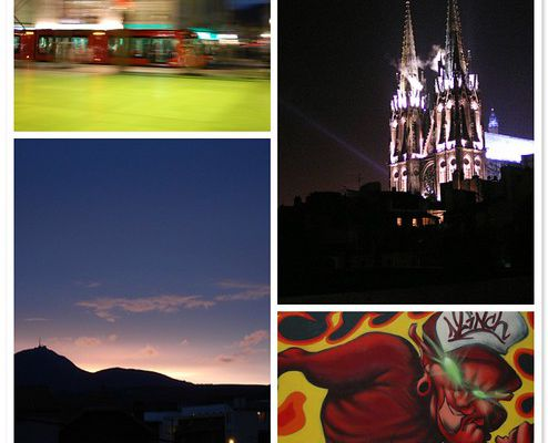 Clermont-ferrand by Night