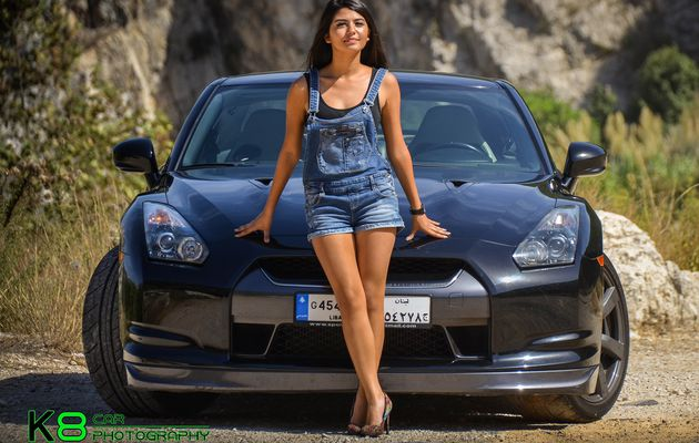 Cars and Girls: Sexy Lebanese Model and