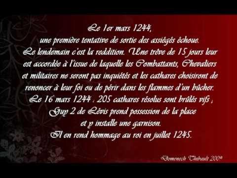 """GLMU : """"le catharisme au 13ème siècle ..."""" (conférence)"""