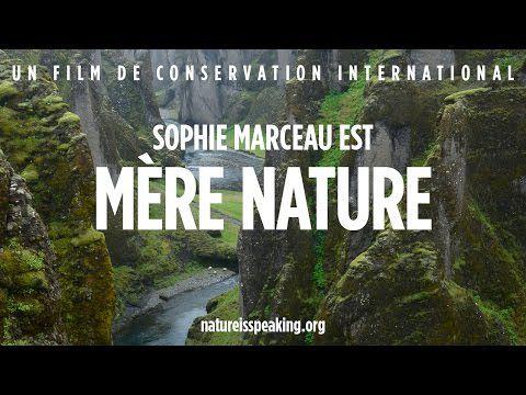 Sophie Marceau donne sa voix à la Nature