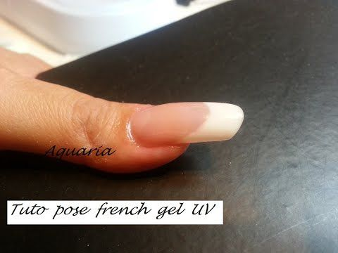 Tuto pose french gel UV
