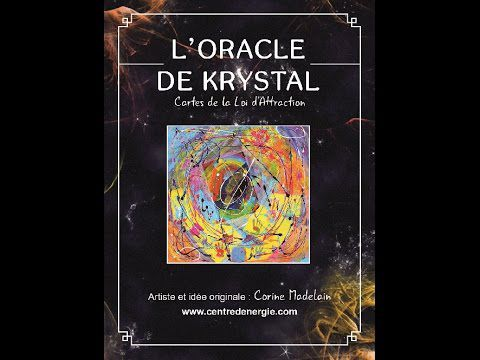 ORACLE DE KRYSTAL - Nouvelle version