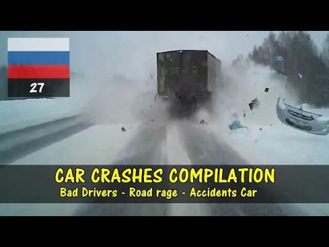 Car Crashes Compilation #27 | Road Rage - Bad Drivers | March 2016
