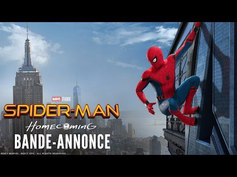 Spider Man Homecoming, bande annonce.
