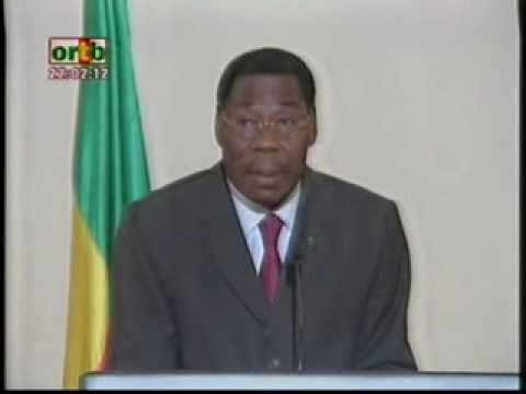 Bénin : Allocution de son Excellence Docteur Boni YAYI