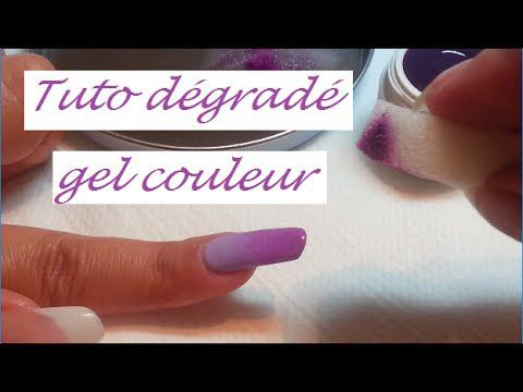 Faire un dégradé en gel