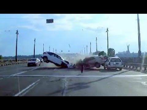 Compilation de Crash hard en voitures || Méga-Crash Hard Compilation #15 Juin 2016