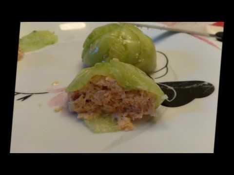 Dômes de concombre & saumon