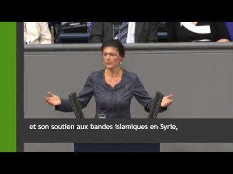 Sarah Wagenknecht fustige l'hypocrisie d'Angela Merkel