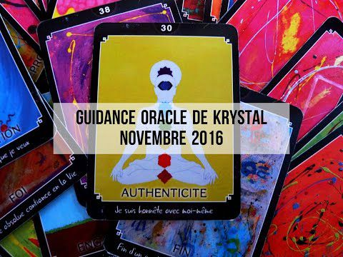 Guidance Oracle de Krystal Novembre 2016