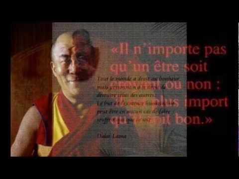 Citations de Dalaï Lama .