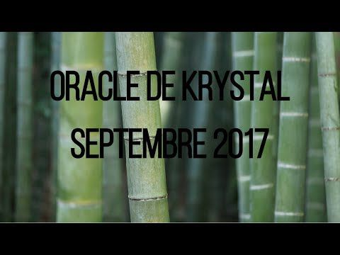 Guidance Oracle de Krystal septembre 2017