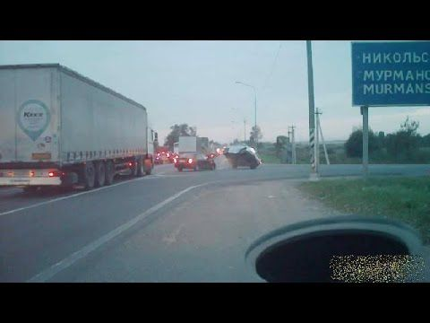 Car crash compilation #140 / Compilation d'accident de voiture n°140 + Bonus