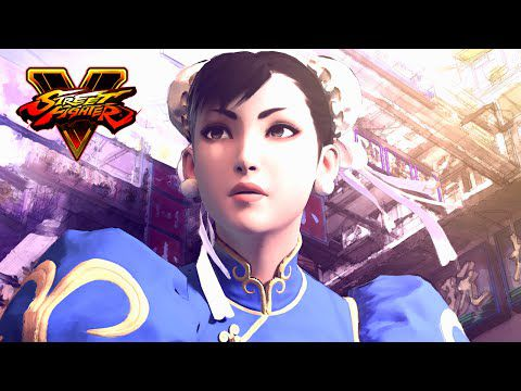 Street Fighter V, l'intro du jeu !!