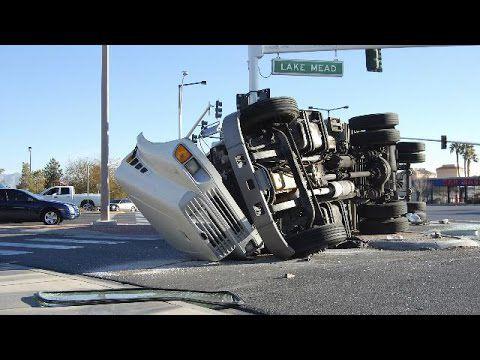 Compilation d'accident de camion et de bus n°15 | Road rage | Best truck and bus crashes