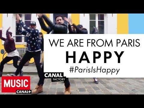 """Mehdi Kerkouche et ses danseurs sont """"HAPPY""""."""