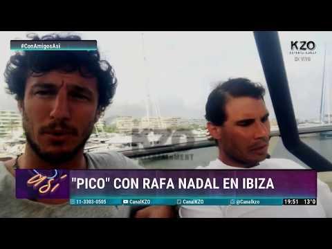 "Vidéo - Ibiza - Tête à tête avec Juan Monaco dit ""Pico"""