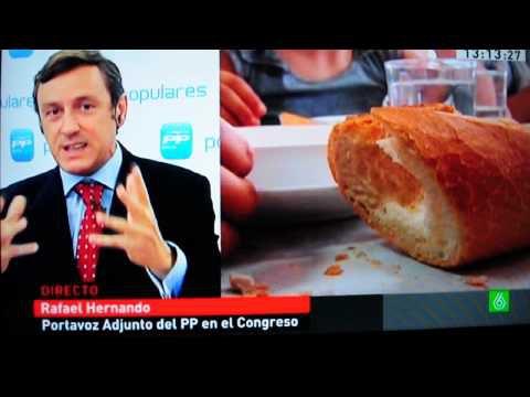 Rafael Hernando (PP) culpa a los padres de los casos de desnutrición infantil