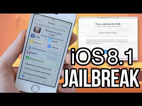 JAILBREAK iOS 8 sur Windows