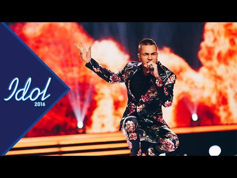 WINNER IDOL 2016 Liam Cacatian Thomassen framför vinnarlåten Playing with fire - Idol Sverige (TV4)