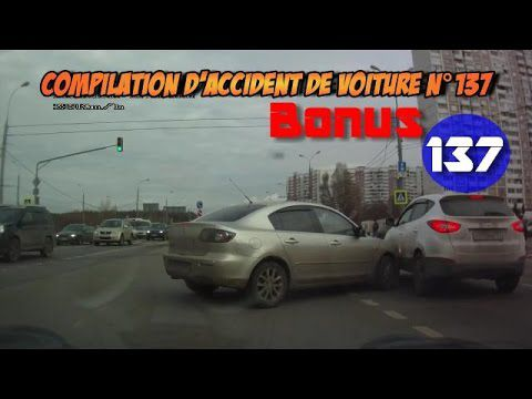 Compilation d'accident de voiture n°137 + Bonus / Car crash compilation #137