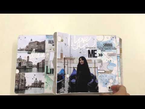 Album Bella Venezia en atelier près du Mans