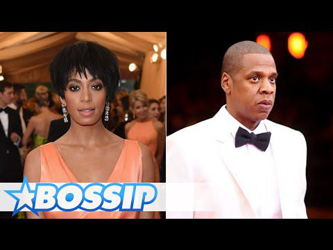 attaque  physiquement !Solange knowles ,jay z video