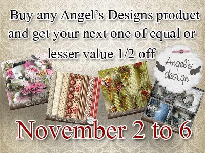 Angel's Designs is moving in permanently ...Promo !