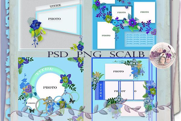 Pack 16 templates
