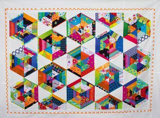 "Mon patchwork kaléidoscope: ""zero waste"""