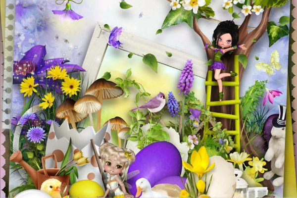 """"""" Easter eggs"""" + freebie... TinkerScrap"""