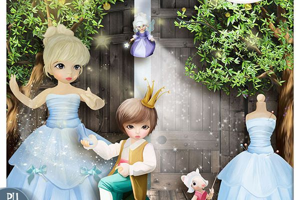 """  Cendrillon ""......+ freebie !!!"