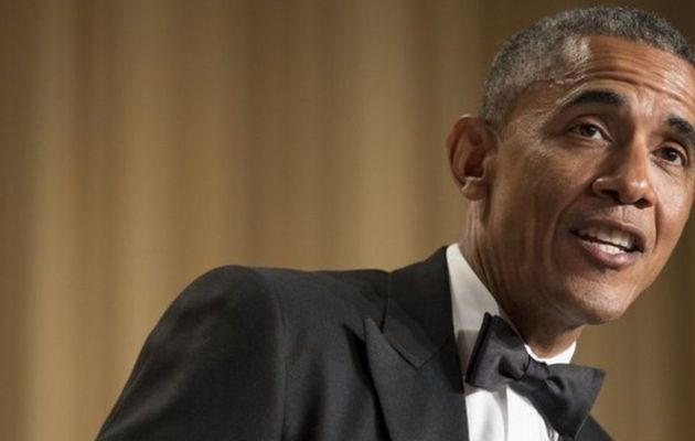 RT @BBCWorld: Barack Obama and his top 7 jokes...
