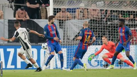 BARCAOUT   How Barcelona is hit by Juventus again