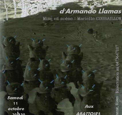 """Chantier théâtre musical aux Abattoirs """"no way véronica"""""""