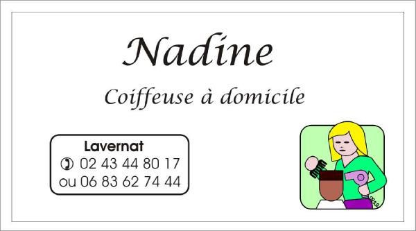 Besoin d'une coupe, allo ...Nadine !