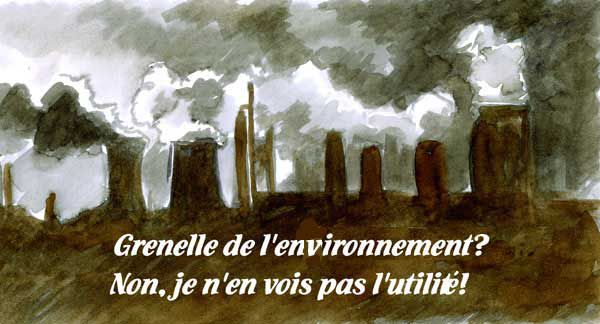 POLLUTION par François Ougen
