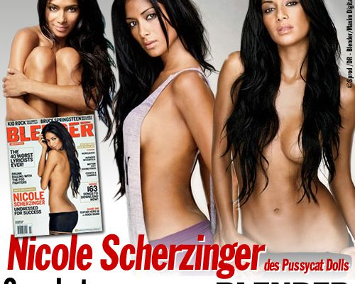 Nicole Scherzinger : ses photos sexy pour Blender