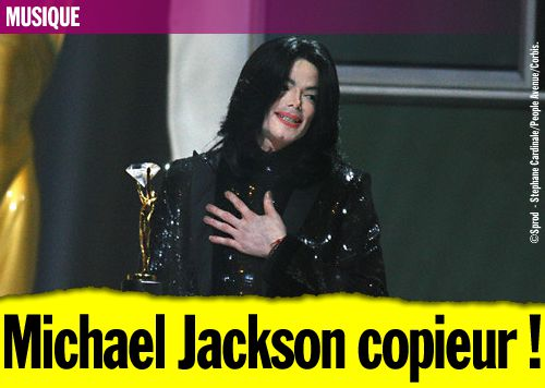 Michael Jackson copieur !